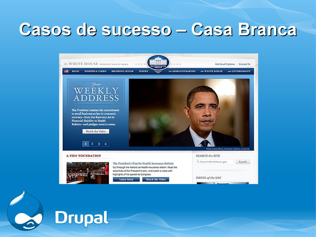 Casos de sucesso – Casa Branca Casos de sucesso...