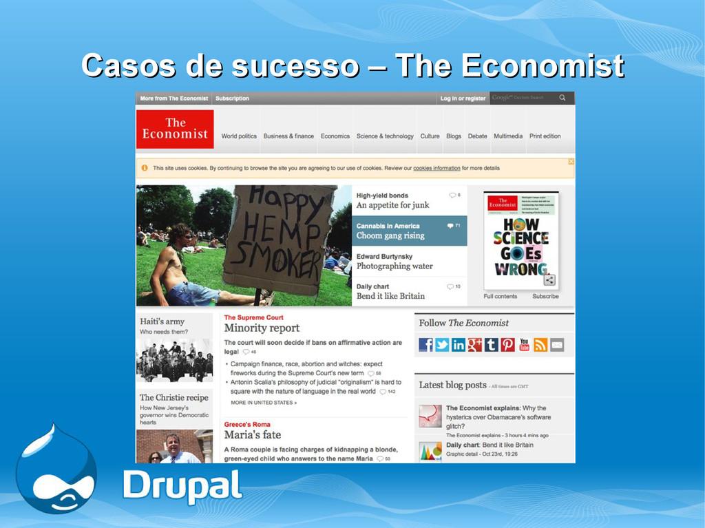 Casos de sucesso – The Economist Casos de suces...