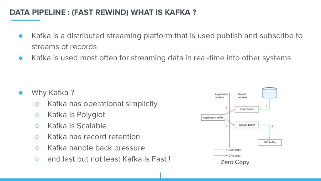 DATA PIPELINE : (FAST REWIND) WHAT IS KAFKA ? Z...