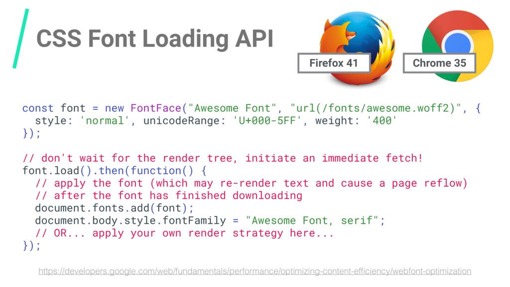 CSS Font Loading API https://developers.google....