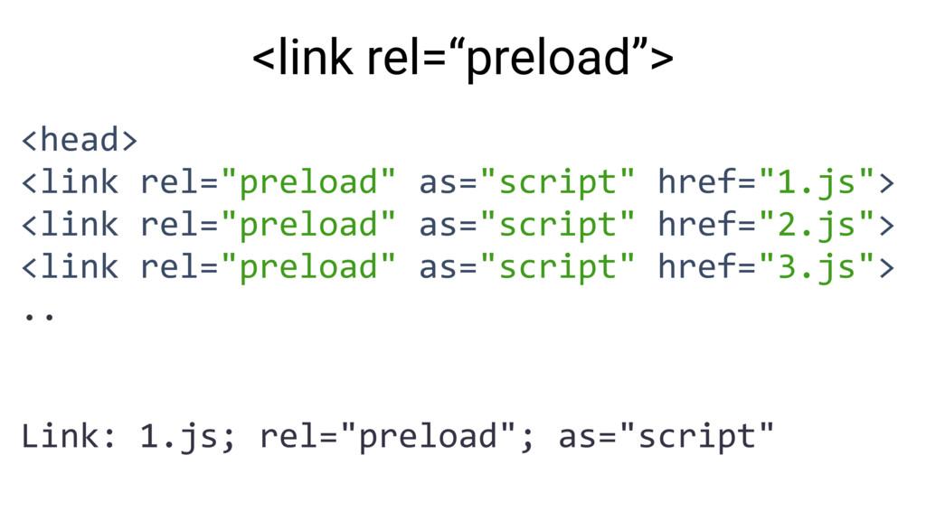 """<head> <link rel=""""preload"""" as=""""script"""" href=""""1...."""