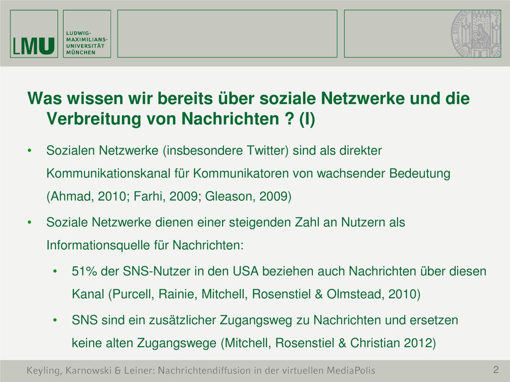 2 Keyling, Karnowski & Leiner: Nachrichtendiffu...