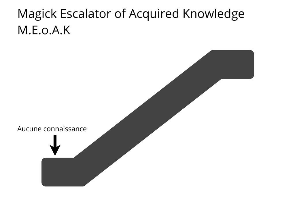 Magick Escalator of Acquired Knowledge M.E.o.A....