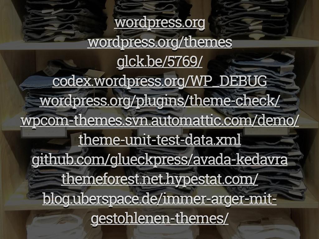 wordpress.org wordpress.org/themes glck.be/5769...