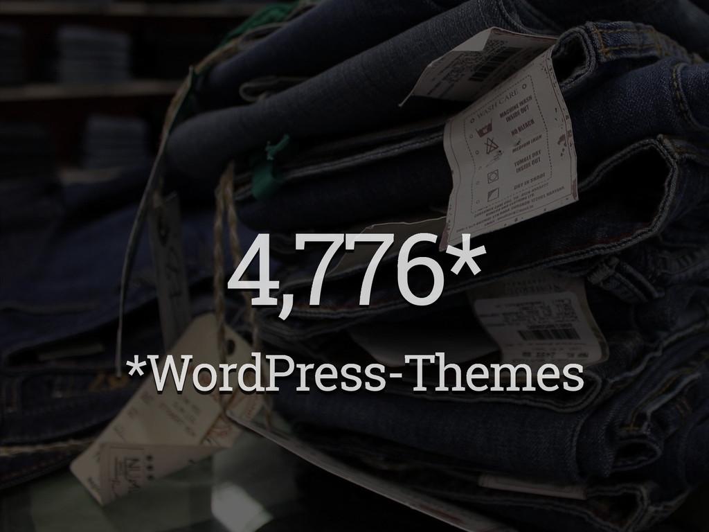 4,776* *WordPress-Themes