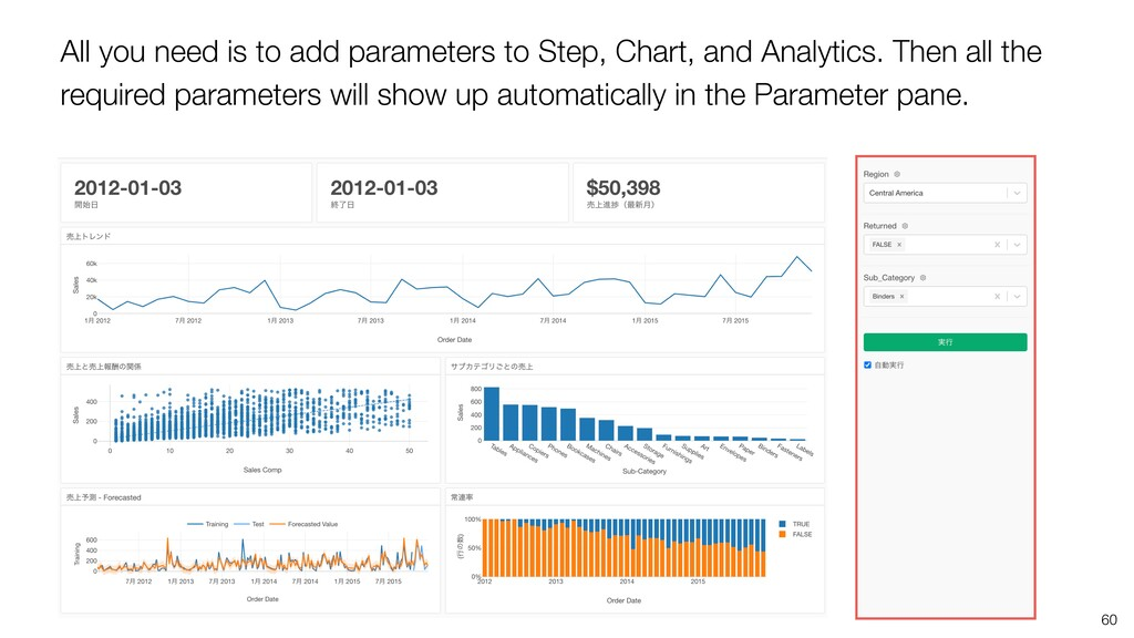 60 All you need is to add parameters to Step, C...