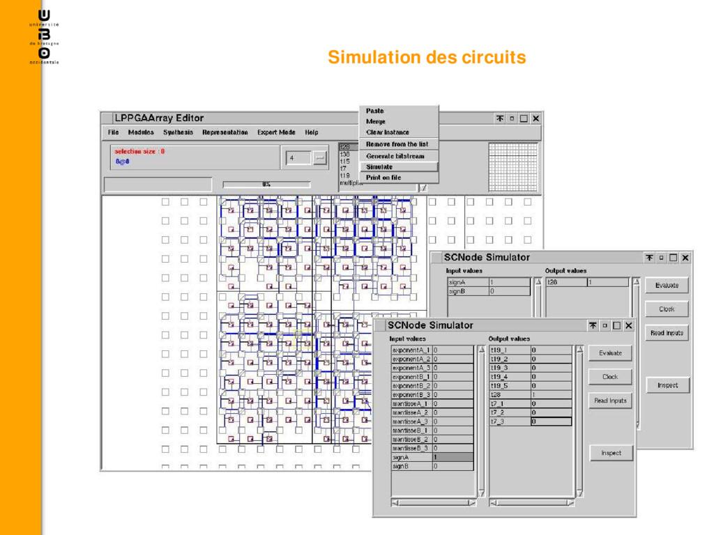 Simulation des circuits