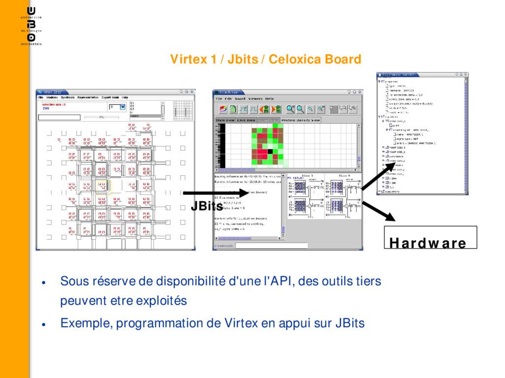 Virtex 1 / Jbits / Celoxica Board • Sous réserv...