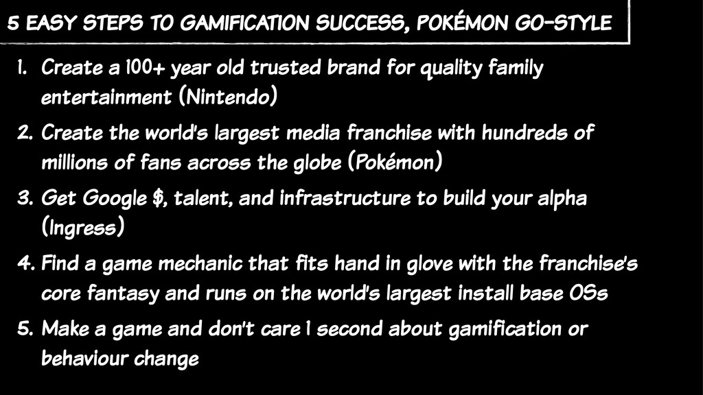 5 easy steps to gamification success, pokémon g...