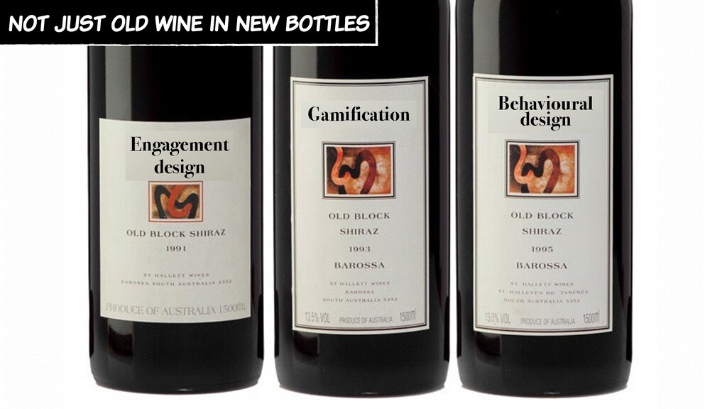 not just old wine in new bottles Engagement des...