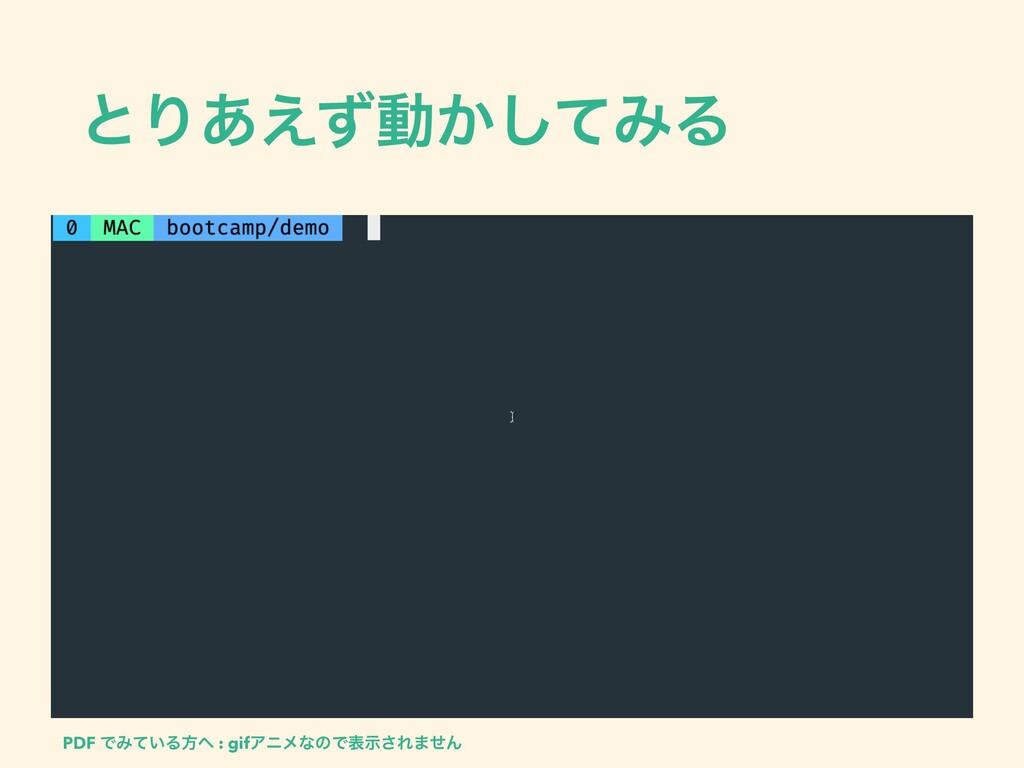 ͱΓ͋͑ͣಈ͔ͯ͠ΈΔ PDF ͰΈ͍ͯΔํ : gifΞχϝͳͷͰදࣔ͞Ε·ͤΜ