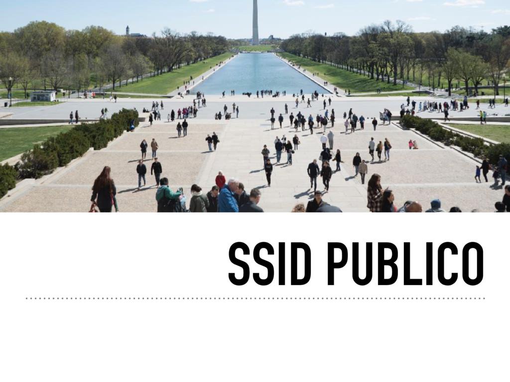 SSID PUBLICO