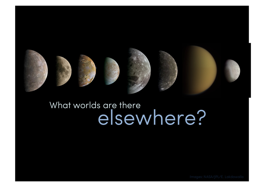What worlds are there elsewhere? Images: NASA/J...