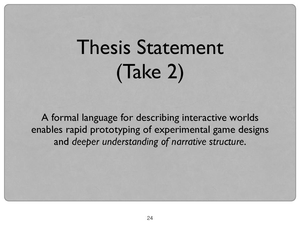 24 A formal language for describing interactive...