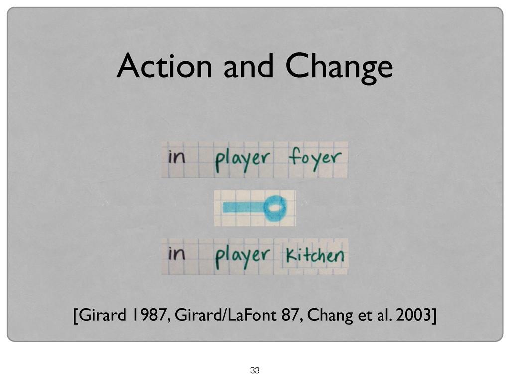 33 Action and Change [Girard 1987, Girard/LaFon...