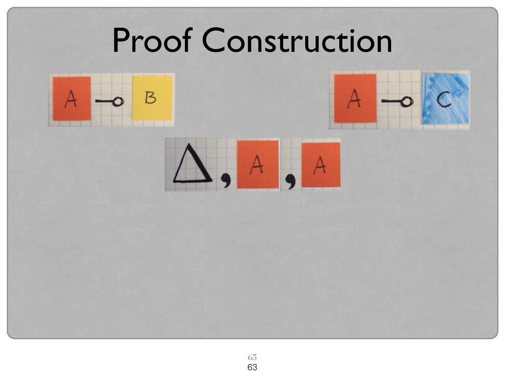 63 63 Proof Construction