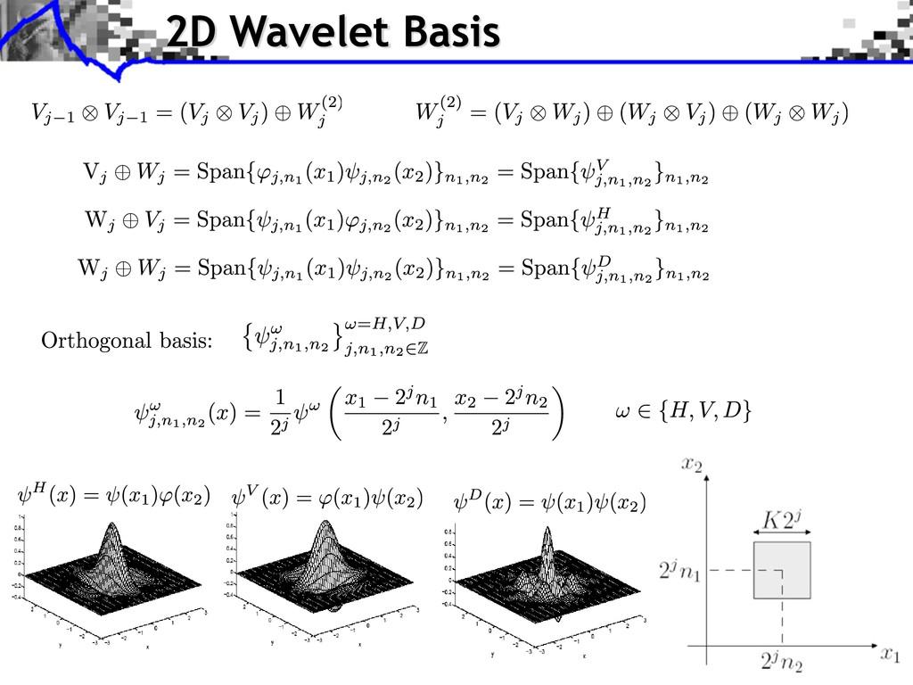 2D Wavelet Basis