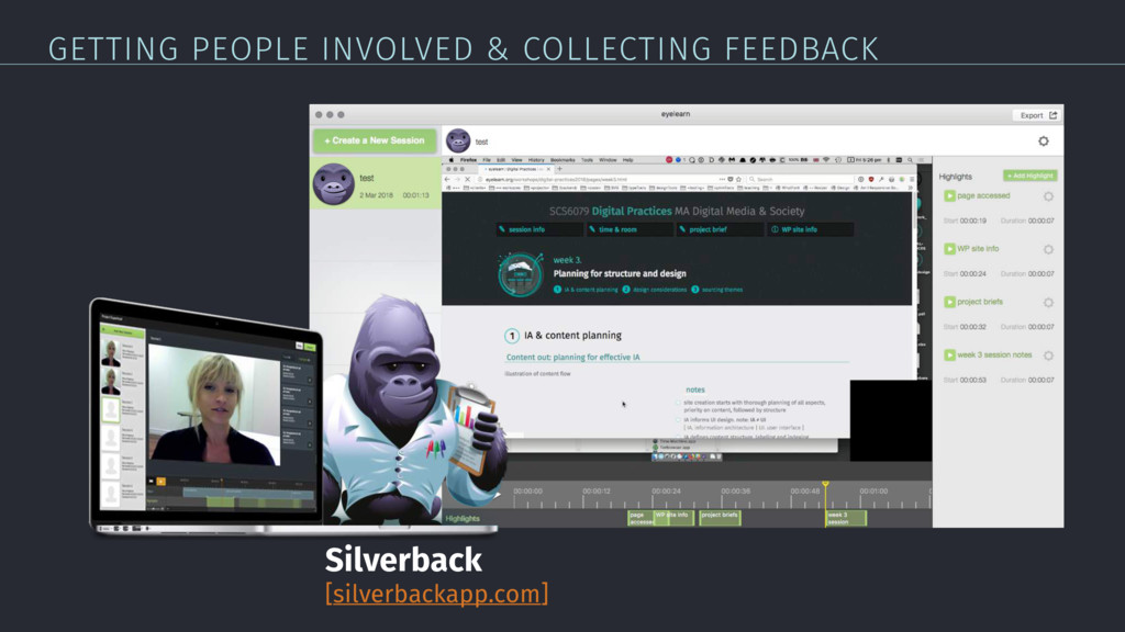 GETTING PEOPLE INVOLVED & COLLECTING FEEDBACK S...