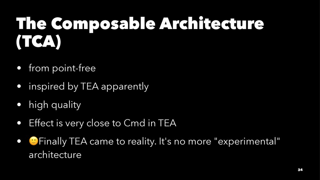 The Composable Architecture (TCA) • from point-...