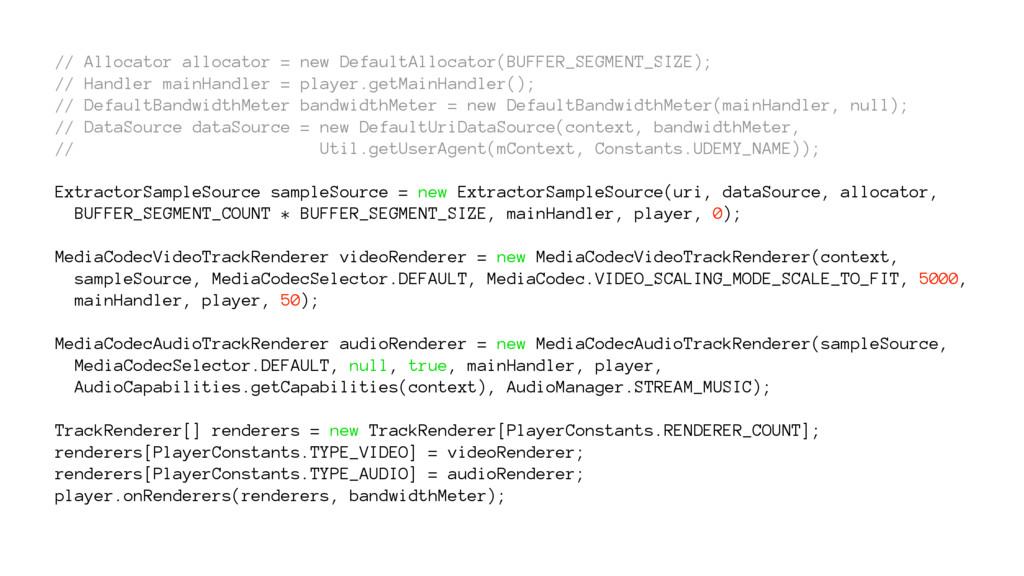 // Allocator allocator = new DefaultAllocator(B...