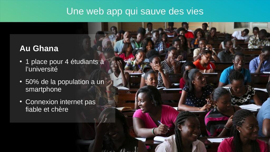 Une web app qui sauve des vies Au Ghana ● 1 pla...