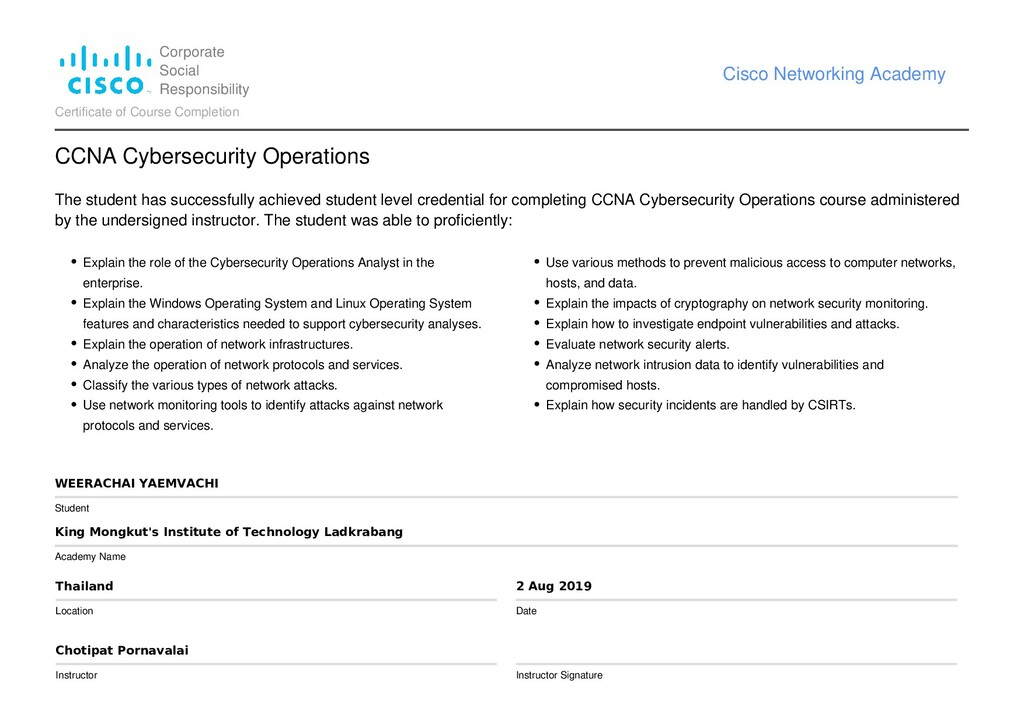 Corporate Social Responsibility Cisco Networkin...