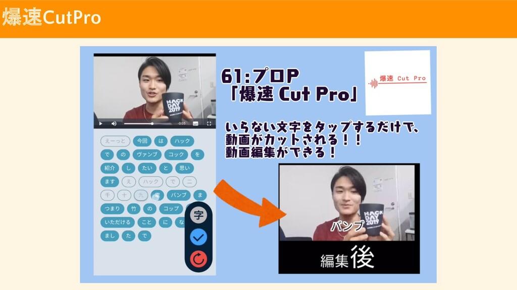 爆速CutPro
