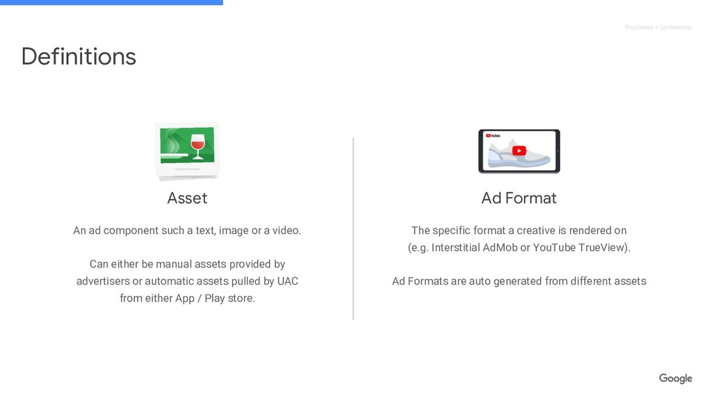 Proprietary + Confidential Ad Format The specif...