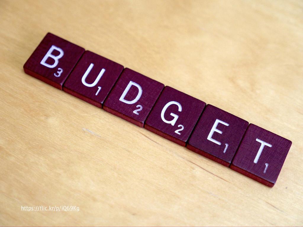 A performance budget https://flic.kr/p/iQ69Kg