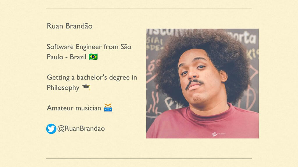 Software Engineer from São Paulo - Brazil  Gett...