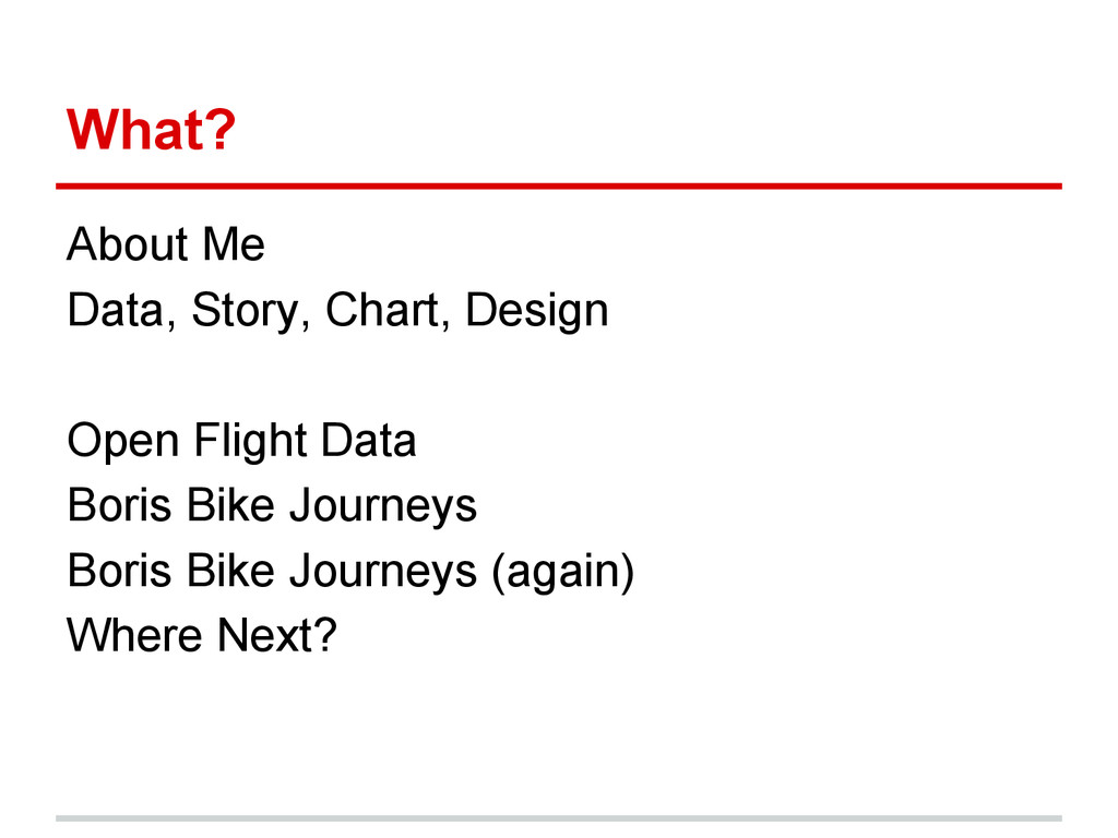 What? About Me Data, Story, Chart, Design Open ...