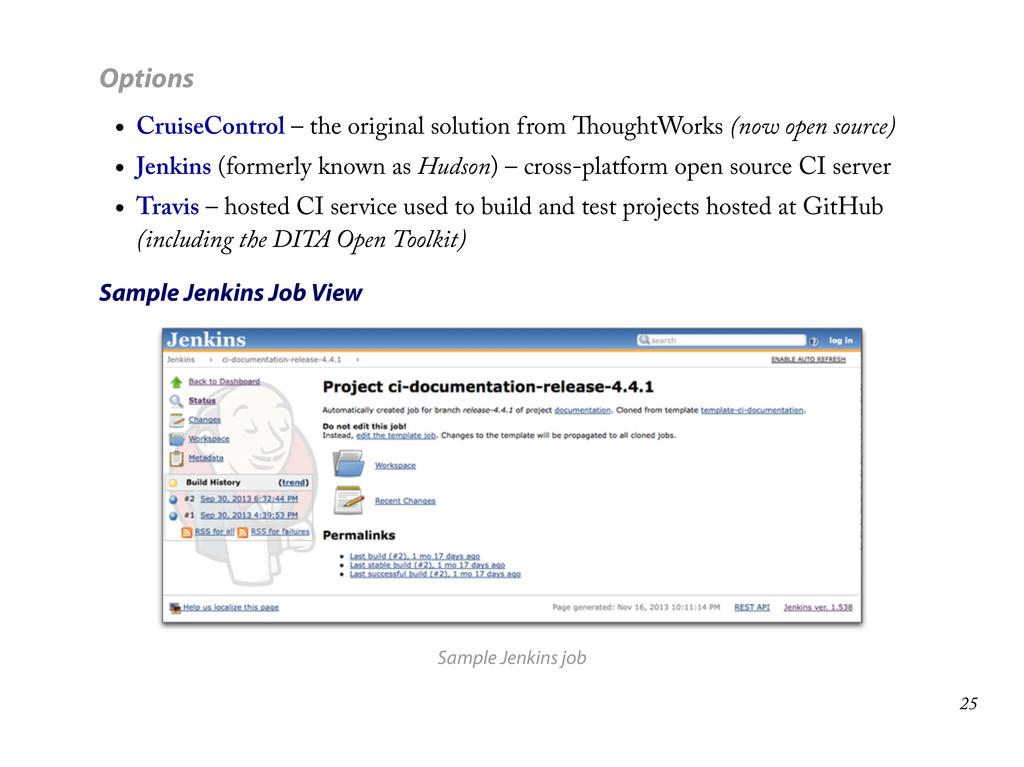 Options CruiseControl – the original solution f...