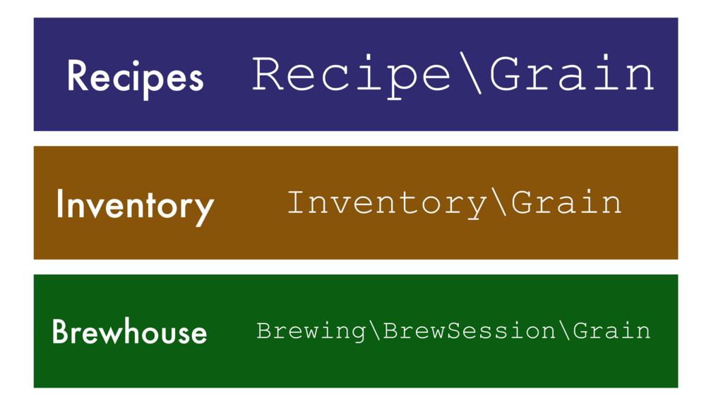 Inventory Recipes Brewhouse Recipe\Grain Invent...