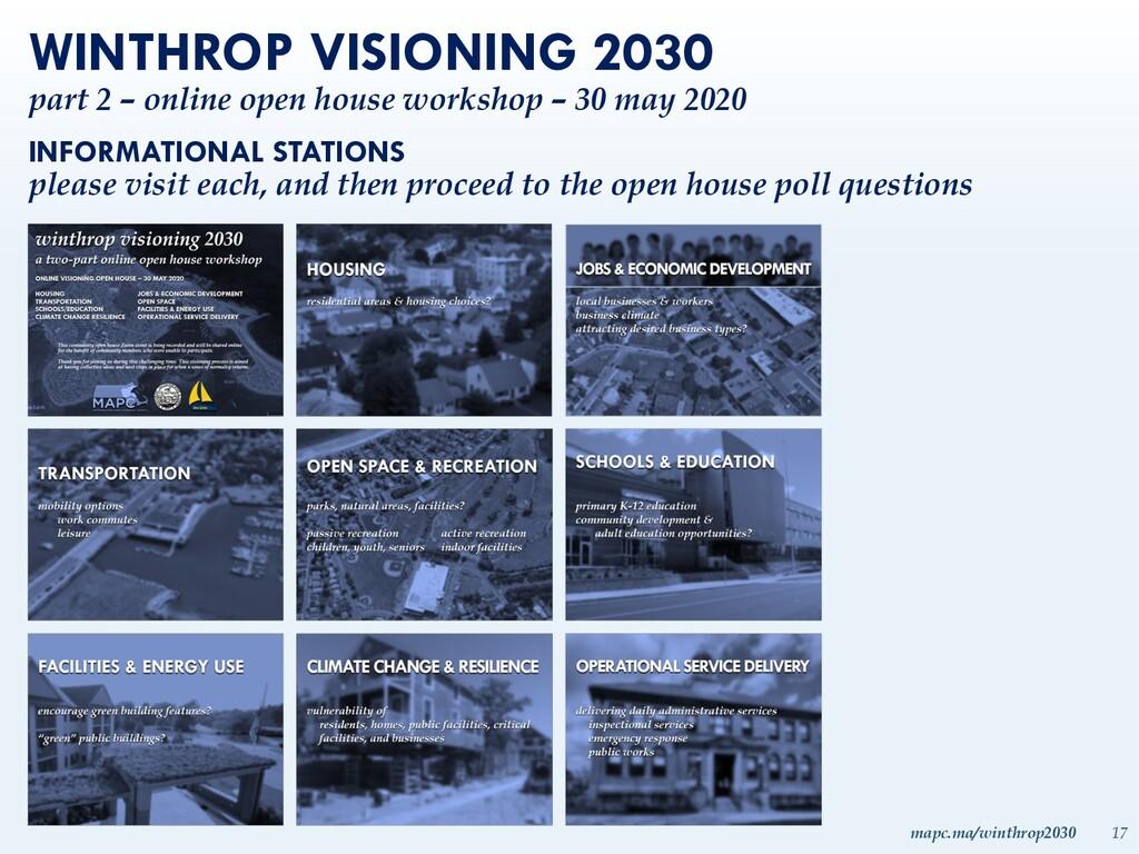 mapc.ma/winthrop2030 17 WINTHROP VISIONING 2030...