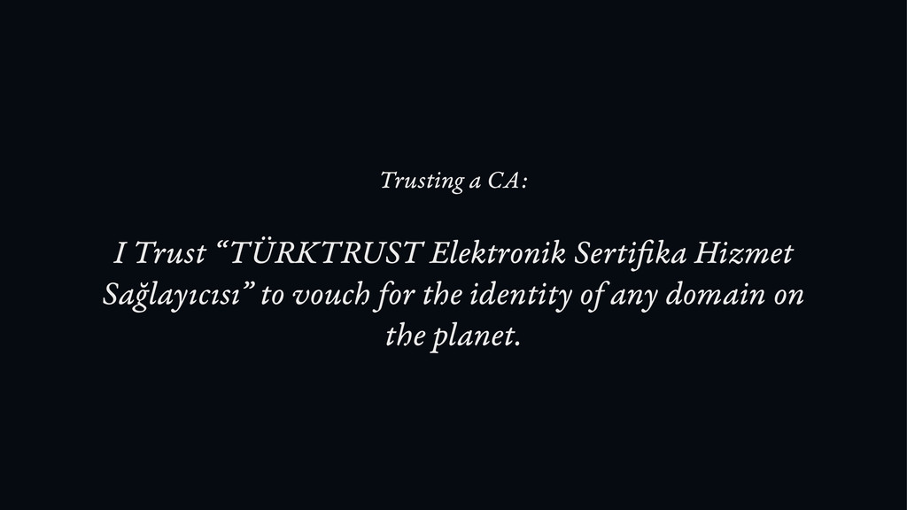 "I Trust ""TÜRKTRUST Elektronik Serti ka Hizmet S..."