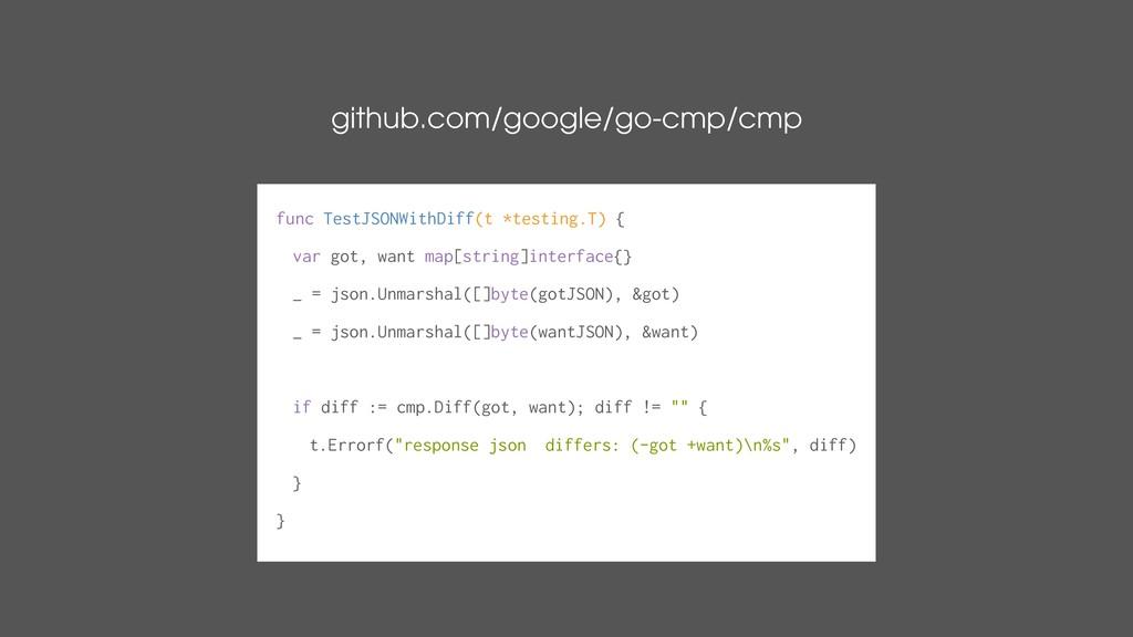 github.com/google/go-cmp/cmp func TestJSONWithD...