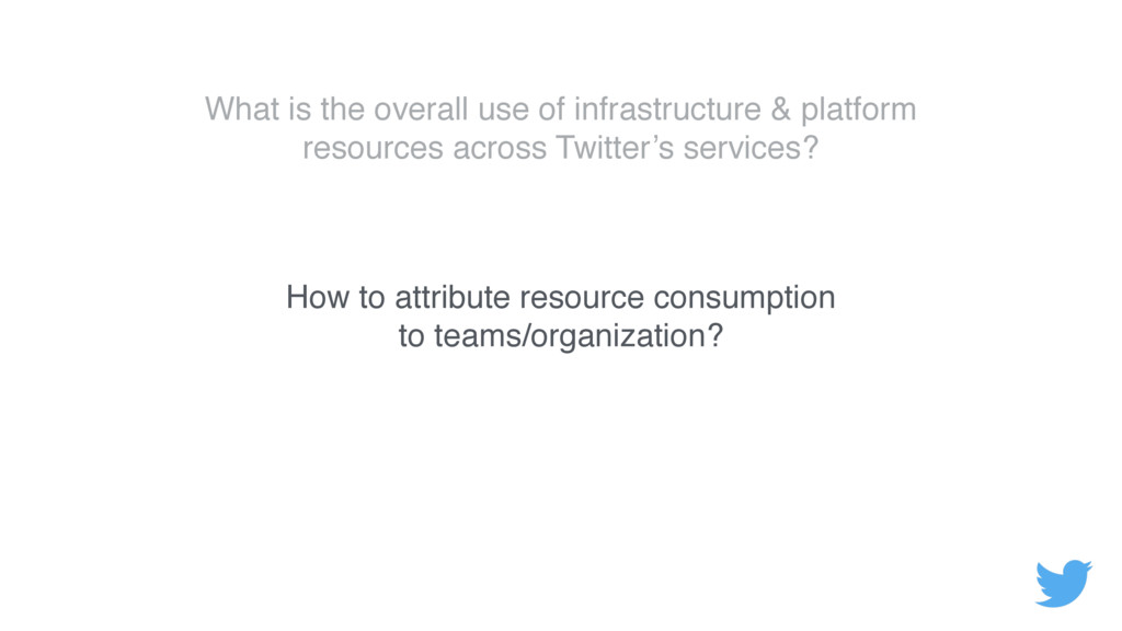 What is the overall use of infrastructure & pla...