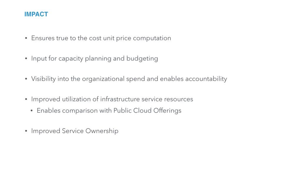 • Ensures true to the cost unit price computati...