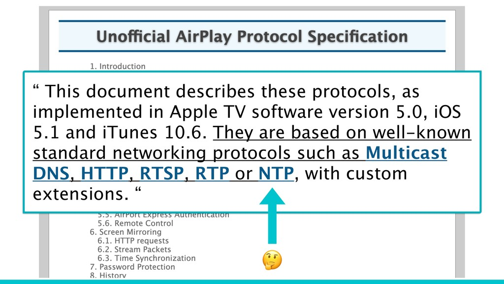 """"""" This document describes these protocols, as i..."""