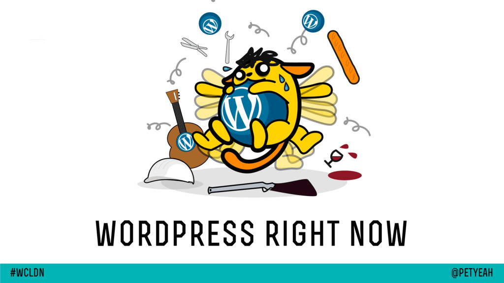 wordpress right now @petyeah #wcldn