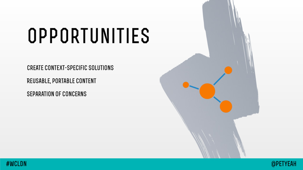opportunities Create context-specific solutions...