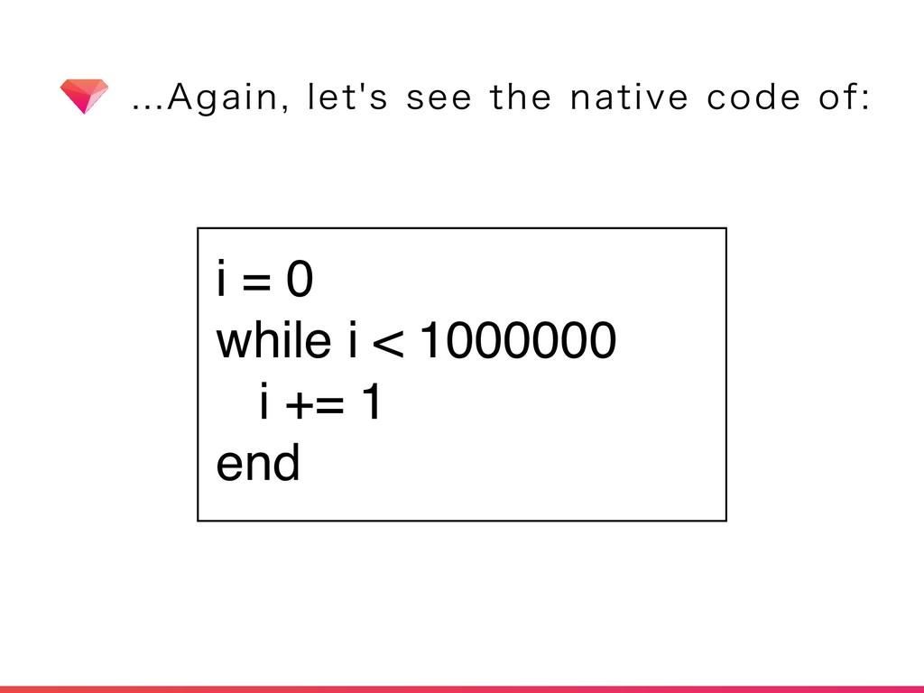 """""""HBJOMFUTTFFUIFOBUJWFDPEFPG i = 0 w..."""
