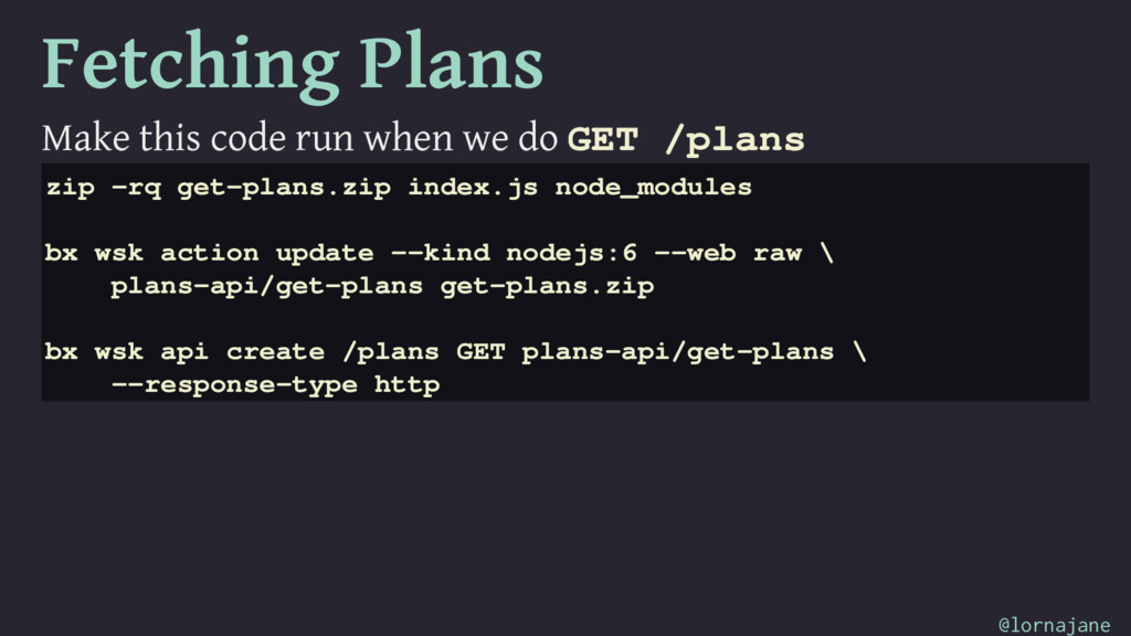 Fetching Plans Make this code run when we do GE...