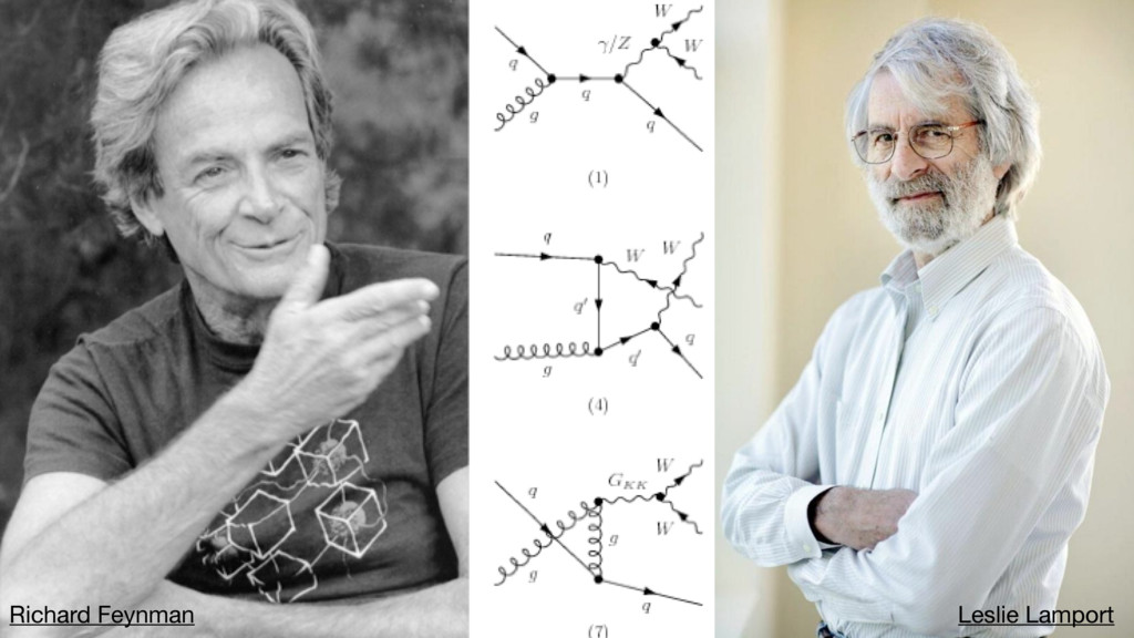 Richard Feynman Leslie Lamport