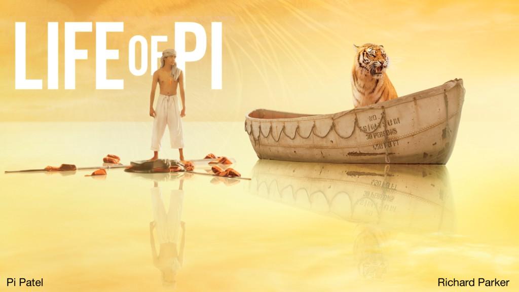 Pi Patel Richard Parker