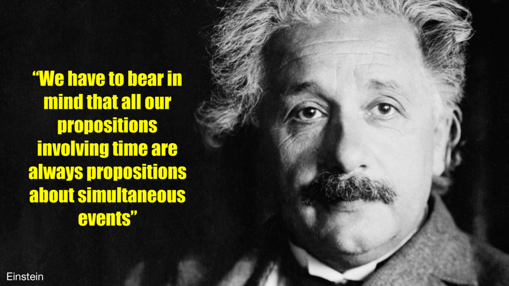 """We have to bear in mind that all our propositi..."