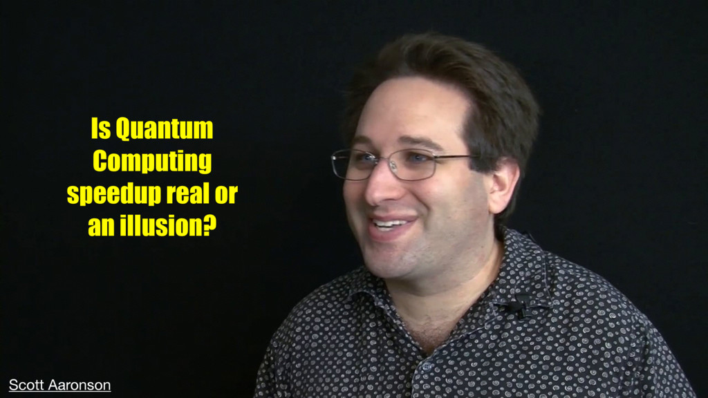 Is Quantum Computing speedup real or an illusio...