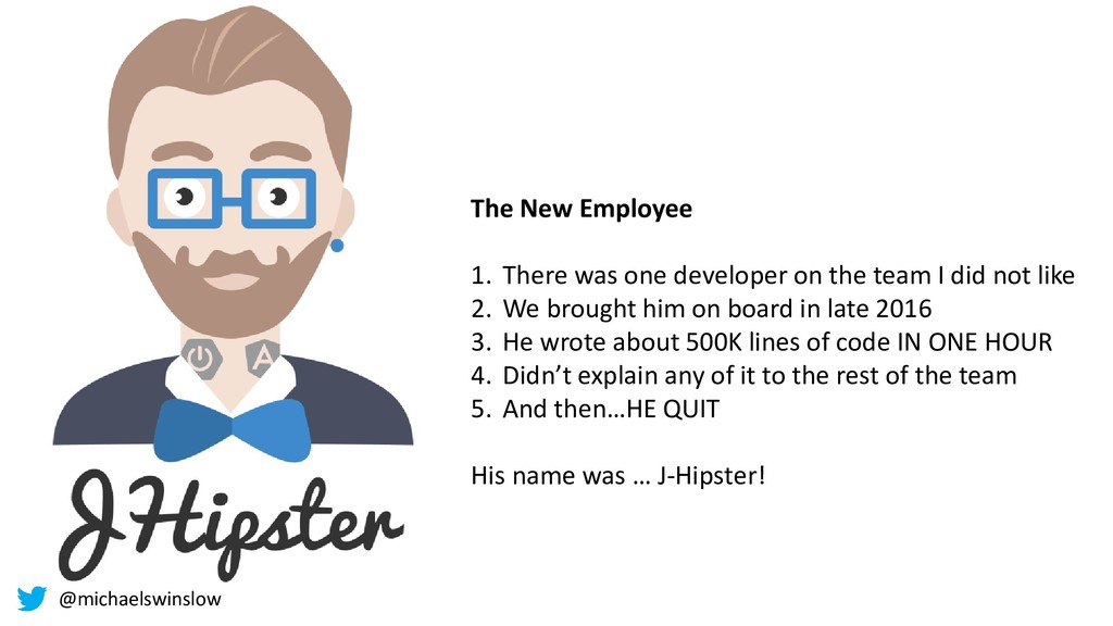 The New Employee 1. There was one developer on ...