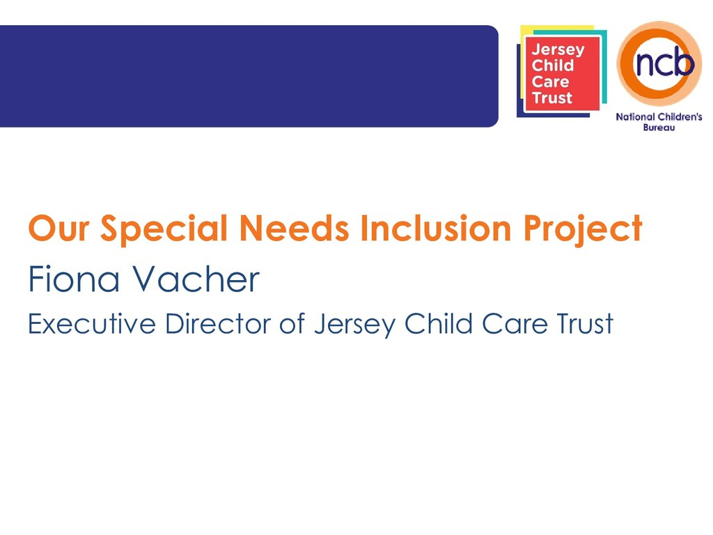 Our Special Needs Inclusion Project Fiona Vache...