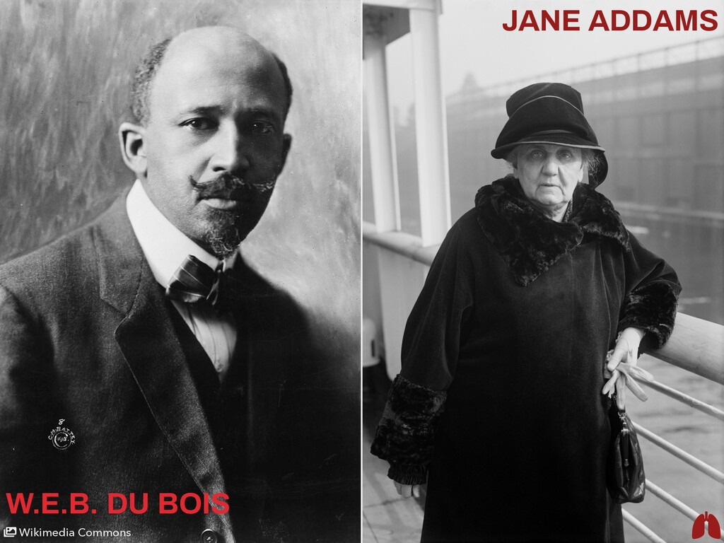 Wikimedia Commons W.E.B. DU BOIS JANE ADDAMS